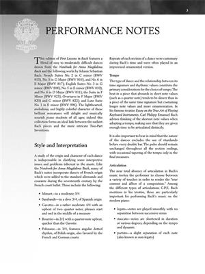 Johann Sebastian Bach: First Lessons In Bach: Piano or Keyboard
