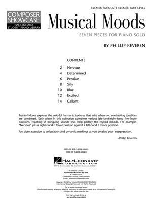 Phillip Keveren: Seven Musical Moods (Piano): Piano