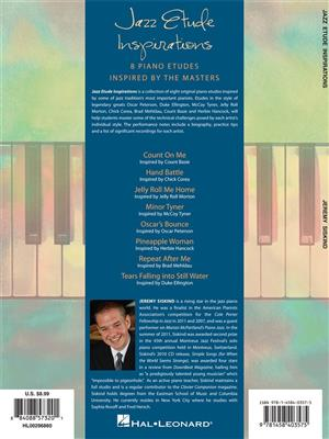 Jeremy Siskind: Jazz Etude Inspirations: Piano