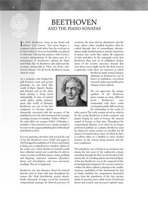 Ludwig van Beethoven: Piano Sonata No.9 In E Op.14 No.1: Piano or Keyboard
