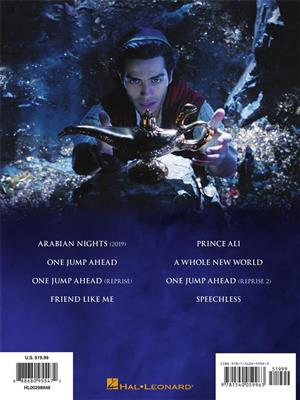 Alan Menken: Aladdin: Arr. (Benj Pasek): Piano, Vocal, Guitar