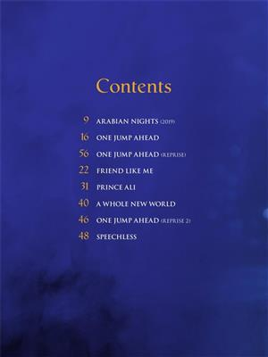 Alan Menken: Aladdin: Arr. (Benj Pasek): Easy Piano