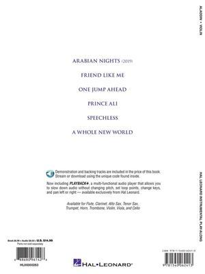 Alan Menken: Aladdin - Violin: Violin Solo