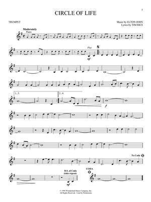 Elton John: The Lion King - Trumpet: Trumpet