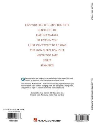 Elton John: The Lion King - Viola: Viola