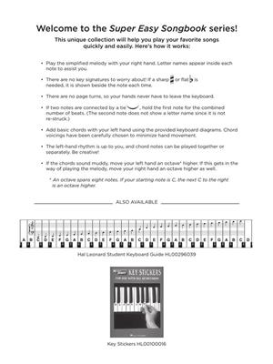 Elton John: The Lion King - Super Easy Songbook: Easy Piano