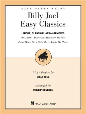 Billy Joel: Easy Classics: Piano or Keyboard