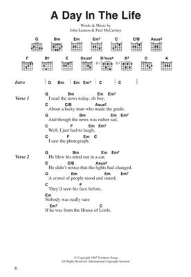 The Beatles: The Beatles Complete Chord Songbook: Guitar or Lute
