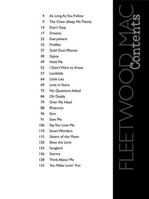 Fleetwood Mac: Fleetwood Mac - Anthology: Piano, Vocal and Guitar