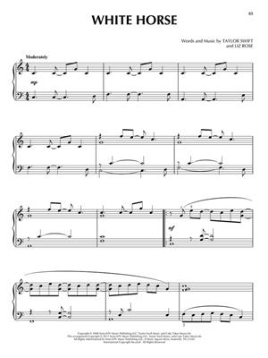 Taylor Swift: Taylor Swift for Piano Sol: Piano
