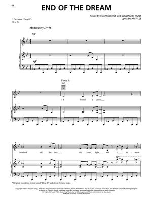Evanescence: Evanescence: Evanescene PVG: Piano, Vocal and Guitar (songbooks)