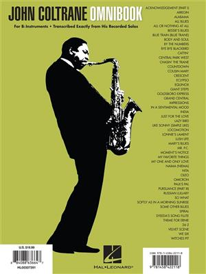 John Coltrane: John Coltrane - Omnibook: B-Flat Instruments