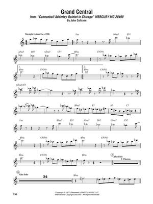John Coltrane: John Coltrane - Omnibook: C-Instruments (Treble Clef)