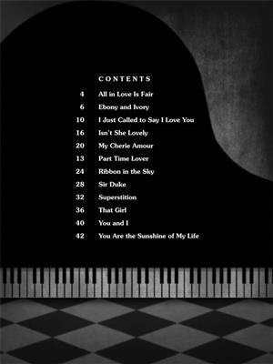 Stevie Wonder: Stevie Wonder: Piano Solo: Piano