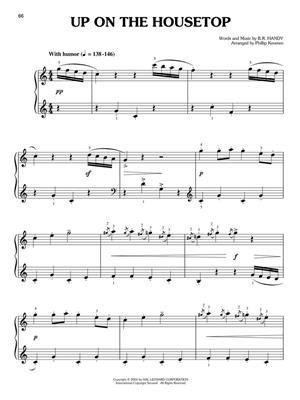 A Classical Christmas - 20 Carols : Arr. (Phillip Keveren): Easy Piano