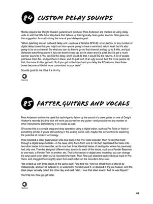 Adam St. James: 101 Recording Tips