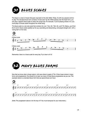 101 Saxophone Tips: Saxophone