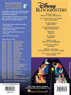 Disney Blockbusters: Piano or Keyboard