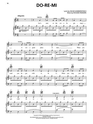 Oscar Hammerstein II: The Sound Of Music: Piano