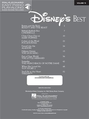 Disney's Best: Piano or Keyboard
