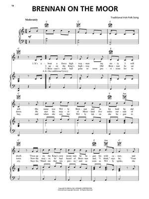 Irish Pub Songs: Piano, Vocal and Guitar