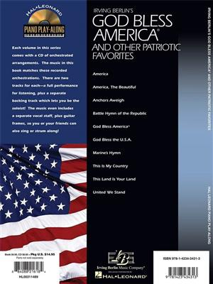 God Bless America and Other Patriotic Favorites: Piano or Keyboard