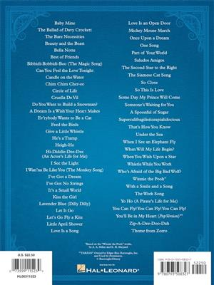 The Disney Collection: Piano, Vocal and Guitar (songbooks)