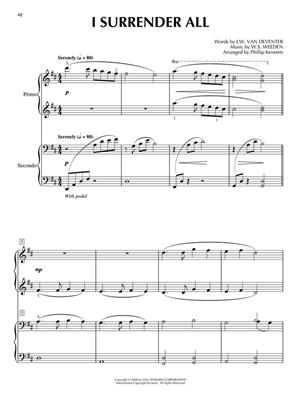 Hymn Duets: Beloved Songs Of Faith : Arr. (Phillip Keveren): Piano 4 Hands