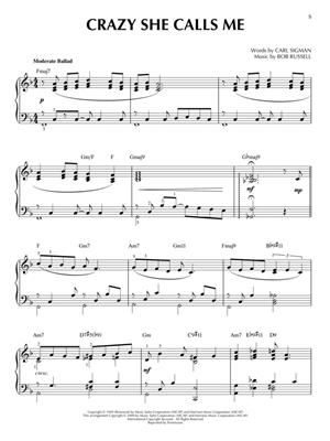 Jazz Ballads: Piano or Keyboard