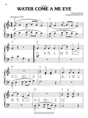 International Folksongs: Arr. (Phillip Keveren): Piano