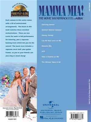 Mamma Mia! The Movie: Piano or Keyboard