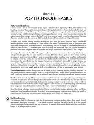 Vocal Essentials for the Pop Singer: Vocal