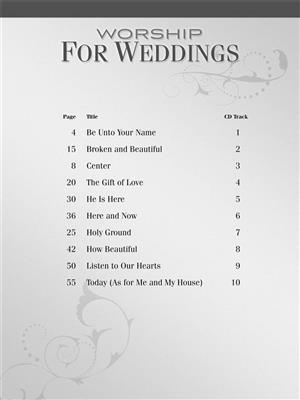 Worship for Weddings: Piano, Vocal, Guitar
