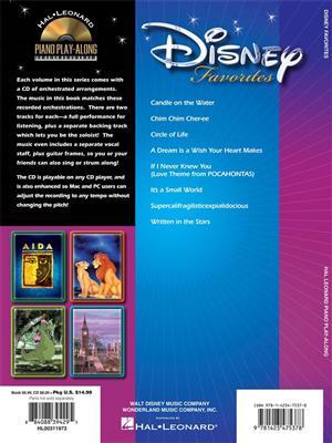 Disney Favorites: Piano, Vocal, Guitar