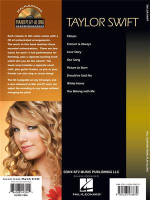 Taylor Swift: Taylor Swift: Piano, Vocal, Guitar