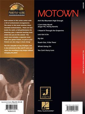 Motown: Piano, Vocal, Guitar