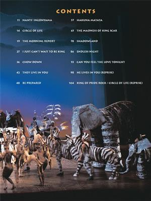 Elton John: The Lion King Broadway Selections: Piano, Vocal, Guitar