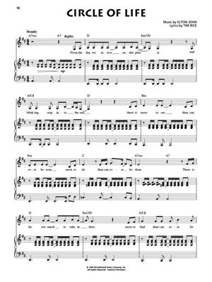 Elton John: The Lion King Broadway Selections: Piano, Vocal and Guitar (songbooks)