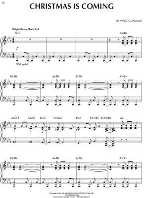 Vince Guaraldi: A Charlie Brown Christmas: Piano & Guitar