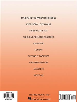 Stephen Sondheim: Sunday In The Park With George - Vocal Selections: Voice & Piano