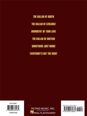 Stephen Sondheim: Assassins - Vocal Selections: Voice & Piano