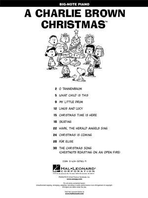 Vince Guaraldi: A Charlie Brown Christmas(TM): Piano