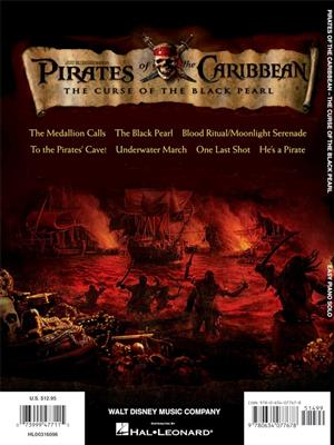 Klaus Badelt: Pirates of the Caribbean:The Curse of the Black...: Piano or Keyboard