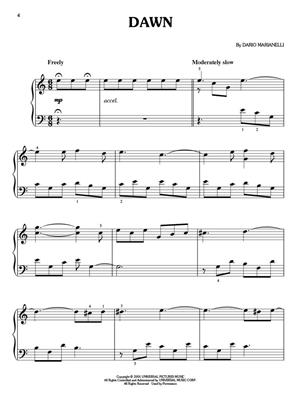 Dario Marianelli: Pride And Prejudice: Piano or Keyboard