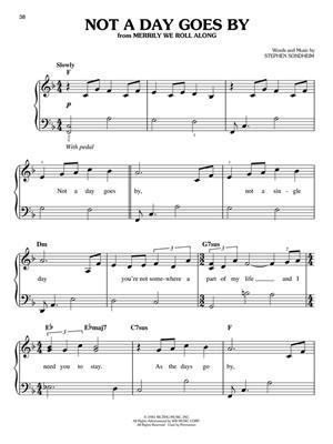 Stephen Sondheim: Sondheim Songs For Easy Piano: Easy Piano