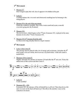 Symphonic Repertoire for Timpani: Arr. (Anthony J. Cirone): Timpani