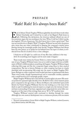 Ralph Vaughan Williams: Ralph Vaughan Williams' Wind Works: Woodwind Ensemble
