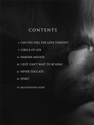 Elton John: The Lion King - E-Z Play Today 146: Piano