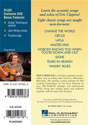 Eric Clapton: Eric Clapton - Acoustic Classics: Guitar or Lute