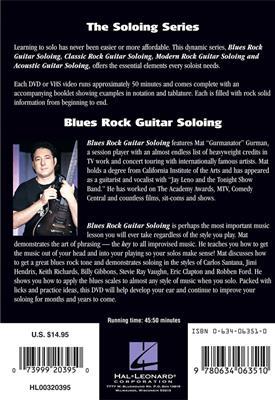 Blues Rock Guitar Soloing